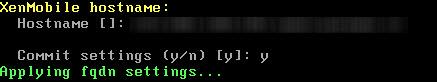CXS-Hostname